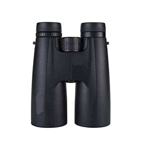 Teleskop Professionelle 12x50 HD-Binoculars Leistungsstarkes Taktischer Taktischer Umfang Niedrig Licht Nachtsicht Fernglas für Vogeljagd Für Erwachsene, Kinder, Profi, Anfänger (Color : Black)
