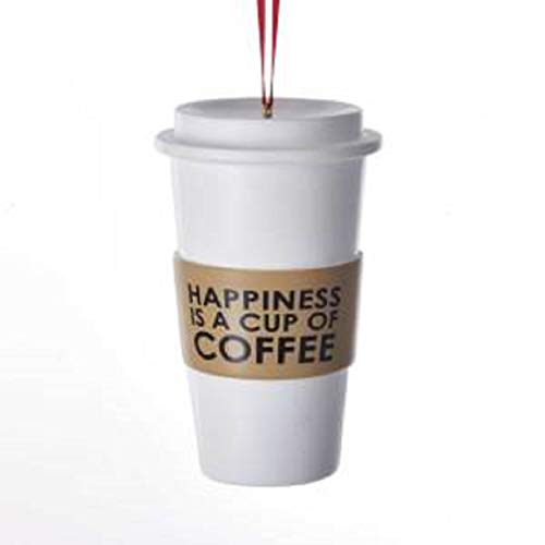 Kurt Adler Coffee Cup Ornament