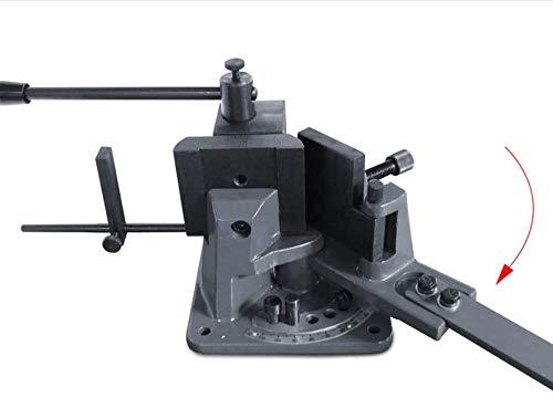 KAKA Industrial UB-100 Heavy-Duty Metal Bender, High Precision Hot and Cold Strip Steel, Flat Steel, Round Steel Metal Bender