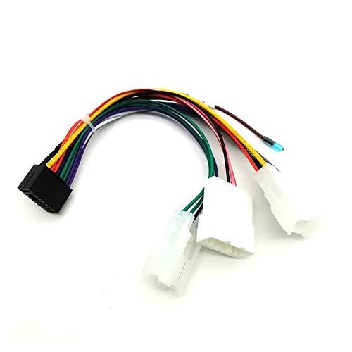 MAYINGXUE - Adaptador de arnés de cableado para Toyota 16 PIN para cable de alimentación Android