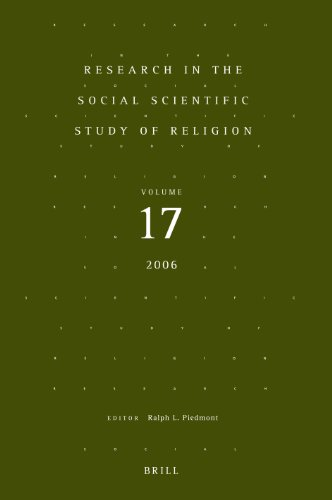 Research in the Social Scientific Study of Religion, Volume 17