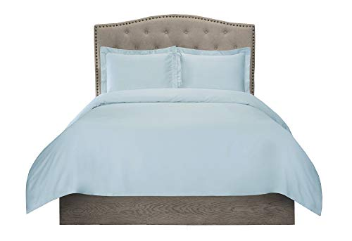 SETTLE IN 300 Thread Count Organic Cotton Duvet Cover Set