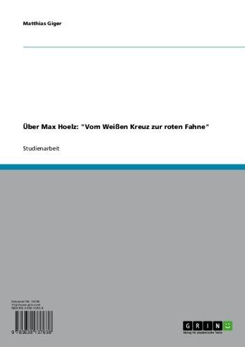 Über Max Hoelz: