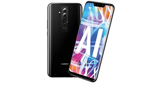 Huawei 775475 Mate 20 Lite Smartphone (16 cm (6.3 Zoll), 24 MP + 2 MP Kamera, Android 8.1 (Oreo)), 64 GB Schwarz