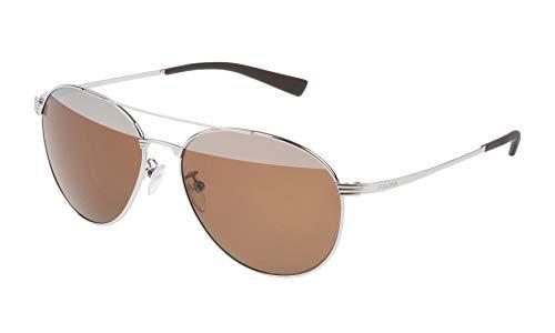 Police S8953V57579X Gafas de sol, Gris, 57 Unisex