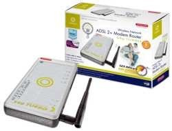 Sitecom WL-175 Wireless ADSL2(+) Modem Router