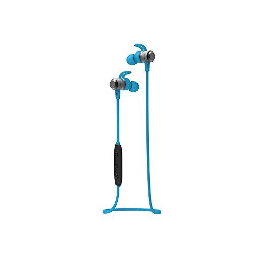 COOGUYイヤホン Bluetooth スポーツ ワイヤレス ヘッドホン 防水 防汗 ブルートゥース ヘッドフォン Siri起動 チップ 立体 ハイビジョンの音質 重低音 ノイズ隔離 内蔵 マイク 通話 8時間連続再生 iPhone Android対応