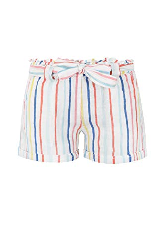 Marc O' Polo Kids Mädchen Shorts, Mehrfarbig (Printed Stripe Multicolored 0009), (Herstellergröße:122)
