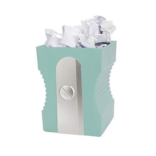 Balvi Papelera Sharpener Color Azul Cielo Papelera de Reciclaje Complemento Ideal para tu Zona de Estudio o de Trabajo...
