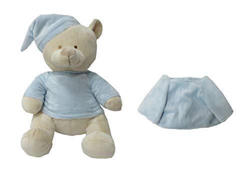 Duffi Baby- Peluche y Camiseta para Bordar, Color Azul (Master Baby Home, S.L. 5105-12)