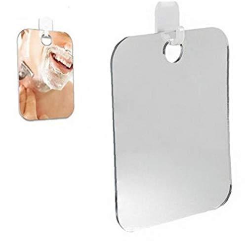 Amoyer Haushalt Anti-Fog Dusche Spiegel Badezimmer Fogless Nebelfreie Spiegel Washroom Spiegel (zufällige Farbe)