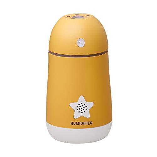 Cebbay Humectador del difusor del Aceite Esencial del ambientador del Filtro de Aire del humectador para el hogar/el Coche Yoga, Regalo, Navidad, Oficina