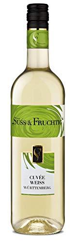 Württemberger Wein SÜSS & FRUCHTIG Cuvée Weiss QW süß (1 x 0.75 l)