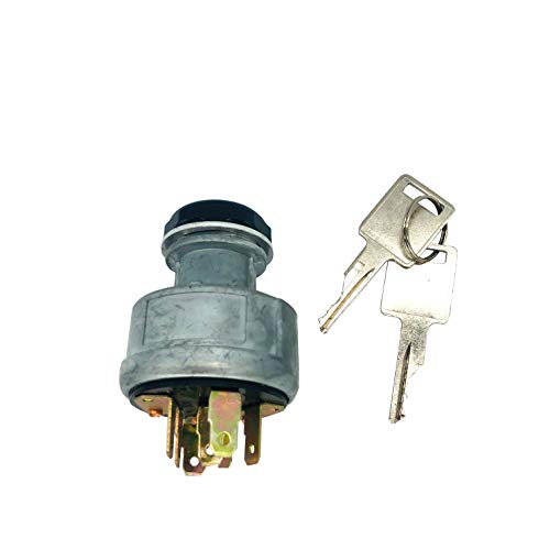 31-280 Ignition Switch 4 Positions 7 Pins with Keys 6693241 for Tractors