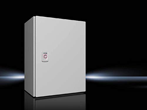 Rittal AX 1034.000 Schaltschrank 300 x 400 x 210 Stahlblech Lichtgrau (RAL 7035) 1St.