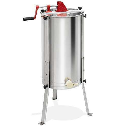 Honey Keeper Pro 2 Frame Stainless Steel Honey Extractor Beekeeping Equipment Honeycomb Drum