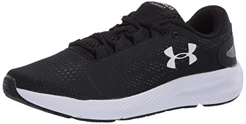 Under Armour Charged Pursuit 2, Zapatillas de Running para Mujer, Negro (Black/White/White), 38 EU