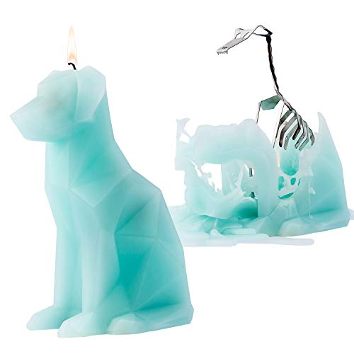 PyroPet Animal Shaped Skeleton Candles by 54 Celsius (Voffi, Mint)