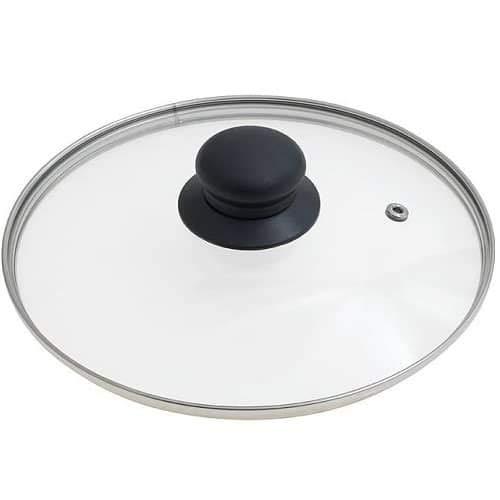 CABLEPELADO Tapa de Cristal para sarten 26 cm Transparente