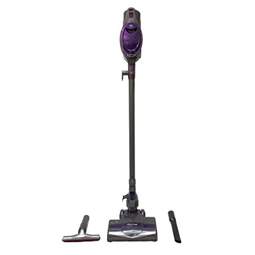 Shark Ultra-Light Stick Rocket Vacuum | Deluxe Corded Cleaner| Compact Design | 2Speed Optimized for Carpet & Floor | 12V Powerful Suction| Ergonomic Design|HEPA Filtration(Renewed)(QS302QPL - Purple)