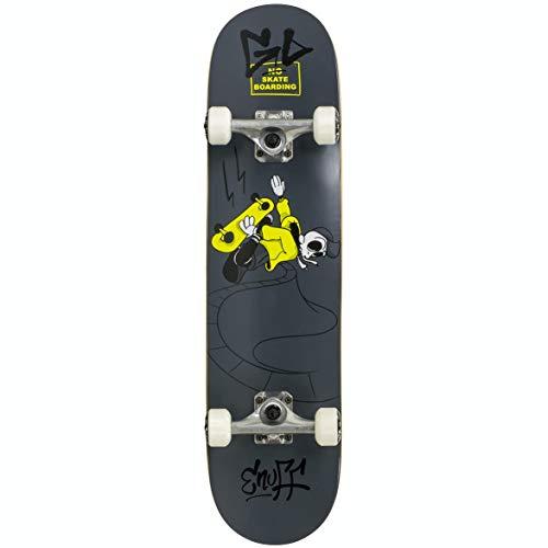 Enuff Skateboards Skully Mini Skateboard, Adultos Unisex, Black (Negro), 7.75