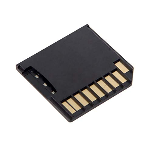 LWSJ Adaptador de Tarjeta de Memoria Micro SD TF TF A SD Kit Adapter Tipo Delgado para MacBook Air/Pro/Retina Black