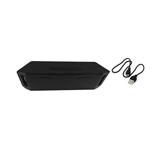DKee. Schwarz tragbaren Lautsprecher Bluetooth 4.0 Soundbar-Lautsprecher 3D Stereo Surround-Lautsprecher TF Laptop Soundbar Caixa De Som
