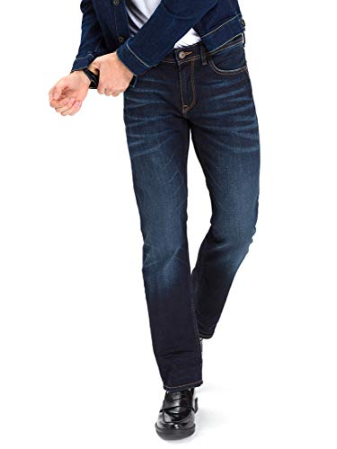 Cross Jeans Herren Antonio Loose Fit Jeans, Blau (Deep Blue 089), W36/L32