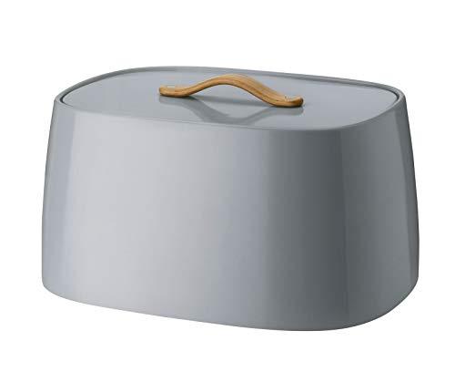 Stelton - Brotkasten/Brotbox - Emma - Edelstahl - Grey/grau