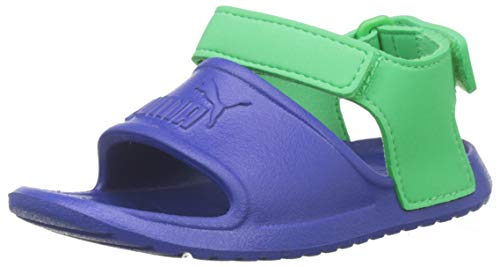 PUMA Unisex-Kinder Divecat v2 Injex Inf Badeschuhe, Blau (Surf The Web-Irish Green), 20 EU