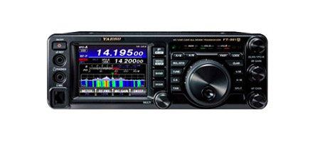オールモードオールバンドアマチュア無線機FT991A 100W+DM330MV