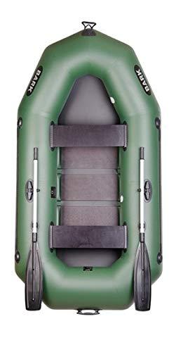 BARK B-250 B-250C B-250CN 2.5 m 250 cm Schlauchboot für 2 Person Paddelboot Ruderboot Motorboot Angelboot Heckspiegel Lattenboden e-Motor Professionelle Ausführung (B-250C Lattenboden)