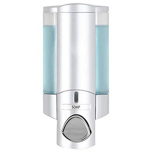 Better Living Aviva Seifenspender für 1 Flasche, Satin Silver 1-Chamber Satin-Silberfarben