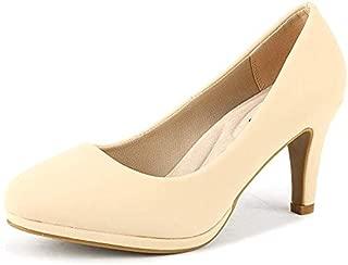 City_ct Women's Classic Low Stiletto Heels Dress Pumps Shoes