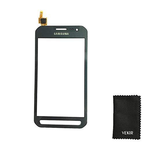 VEKIR Touch Screen Ersatz Kompatibel mit Samsung Galaxy Xcover 3 G388F G388 G389 (schwarz) Retail Verpackung