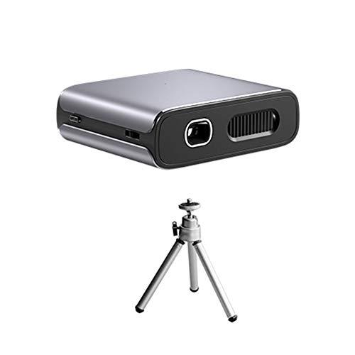 Draagbare draadloze wifi-projector met ingebouwde batterij 5200mAh 3D Audio Multi-Screen 1000 Lumens 1280X1080p 1000: 1 Projector