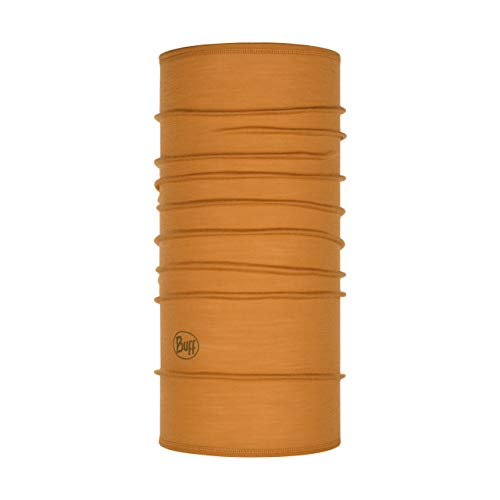 Buff Solid Merino Lightweight Junior Unisex Kinder Mütze Einheitsgröße Orange