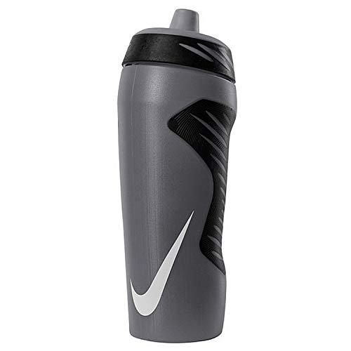 NIKE Unisex's Hyperfuel Water Bottle, Anthracite/Black/White, 18 oz (0.5...