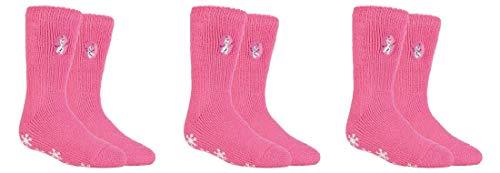 Heat Holders Thermo-Socken für Mädchen, lizenziert, Größe 27–30, 3 Paar Gr. 80, 3 Paar Frozen Olaf.