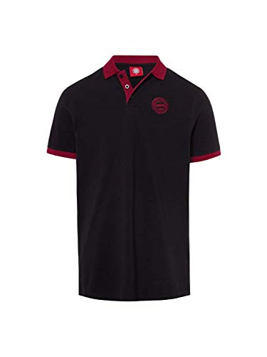 FC Bayern München Poloshirt Lifestyle schwarz, L