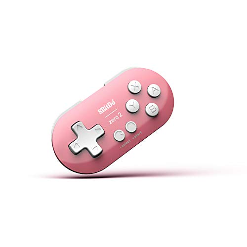8Bitdo Zero 2 Bluetooth Gamepad(Pink Edition) - Nintendo Switch