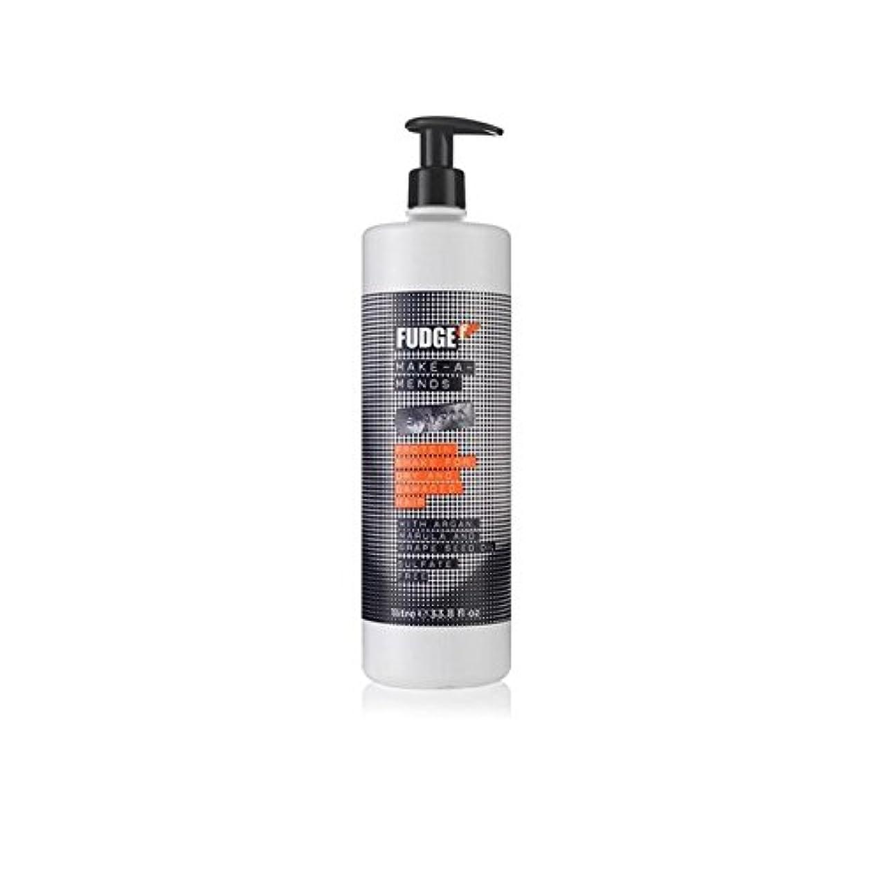 浸した気味の悪い含めるファッジメイク-シャンプー(千ミリリットル) x4 - Fudge Make-A-Mends Shampoo (1000ml) (Pack of 4) [並行輸入品]