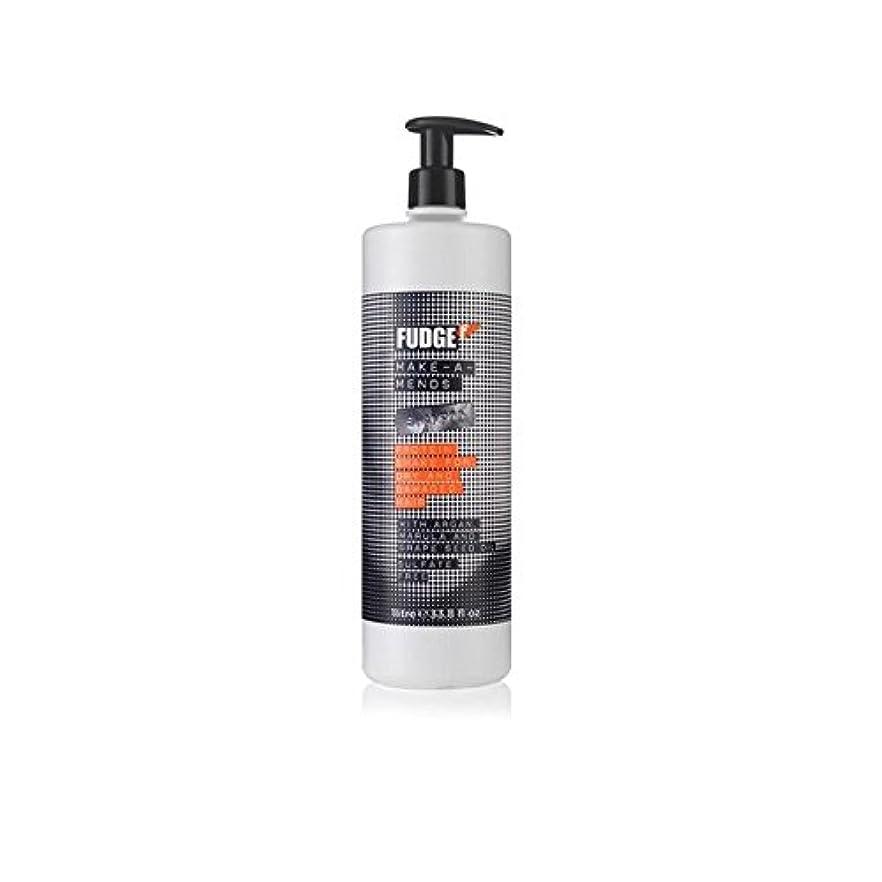 カスタムヘビー前投薬Fudge Make-A-Mends Shampoo (1000ml) (Pack of 6) - ファッジメイク-シャンプー(千ミリリットル) x6 [並行輸入品]