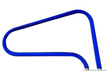 FibroPool Swimming Pool Hand Rail Cover  10 feet Royal Blue