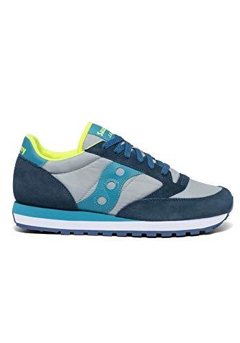 Saucony Sneakers Jazz Original in Camoscio e Nylon 9,5