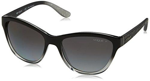 Vogue 0Vo2993S Gafas de sol, Top Black Grad Grey Transparent, 57 para Mujer