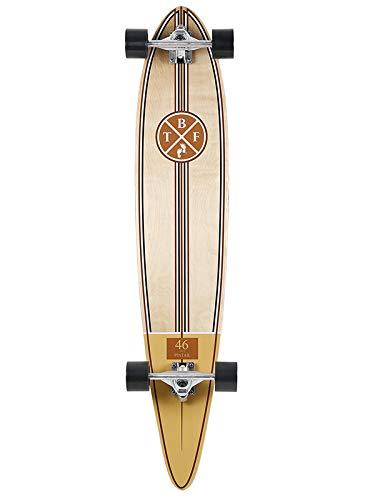 Two Bare Feet TBF 824 Complete Longboard 46in x 9in Cruiser Skateboard...
