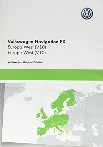 VW Speicherkarte mit vorinstalliertem Navi Update