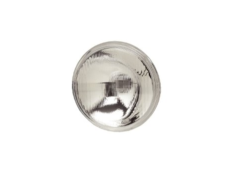 """KC HiLiTES 4205 6"""" Replacement Driving Beam Pattern Glass Lens/Reflector with H3 Bulb Socket Adapter"""