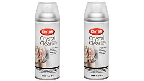 Krylon K01303007 Acrylic Spray Paint Crystal Clear...